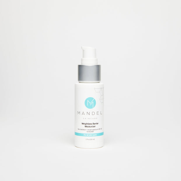 Mandel Skincare Weightless Barrier Moisturizer with SPF 25 sunscreen