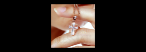 women's small cross pendant bl006 bl007