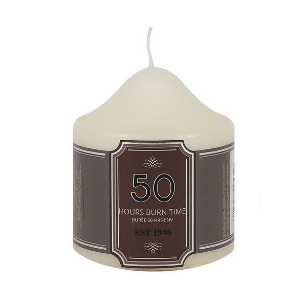 Classic Church Altar Pillar Candle 50 Hours Burn Time  Blessiah Candles Blessiah