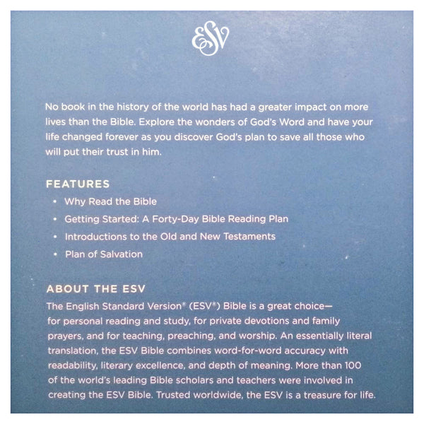 ESV English Standard Version Economy Bible (Paperback)  Crossway Bible Blessiah
