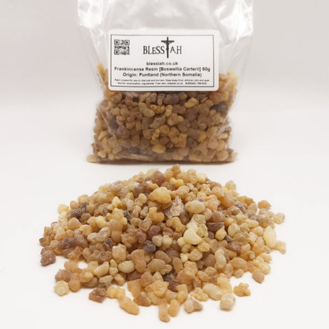 Frankincense Incense Resin Puntland Northern Somalia for use with charcoal 50g