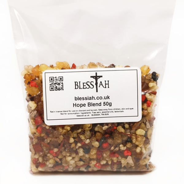 HOPE Blend Incense Resin with Frankincense and Styrax 50g