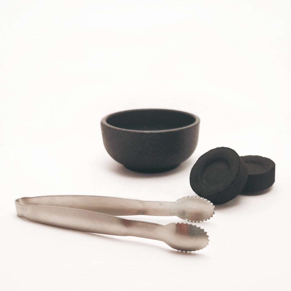 Miniature tongs for charcoal tablets and Incense Resin - Stainless Steel  Blessiah Tongs Blessiah