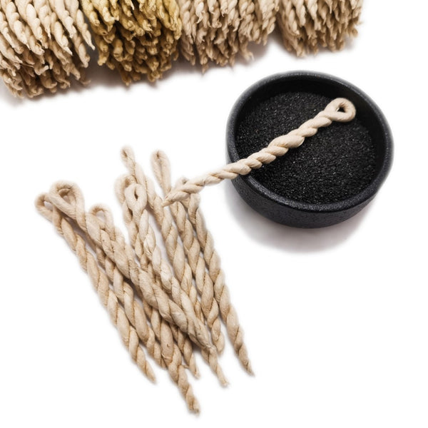 Nepali Incense Ropes 10 Pack | Cedar, Spikenard or Sandalwood  Blessiah Incense Ropes Blessiah