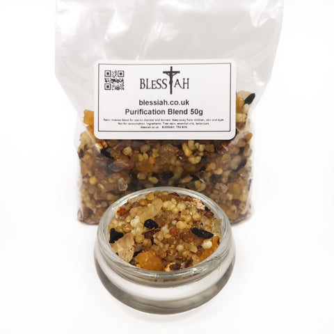 PURIFICATION Blend Incense Resin with Frankincense Copal and Styrax 50g