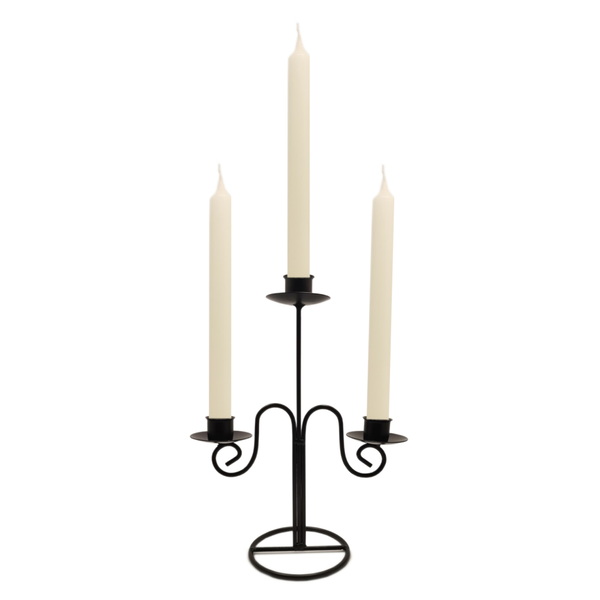 Quality Non-drip Dining Bistro Candles 21 cm IVORY  Blessiah Candles Blessiah