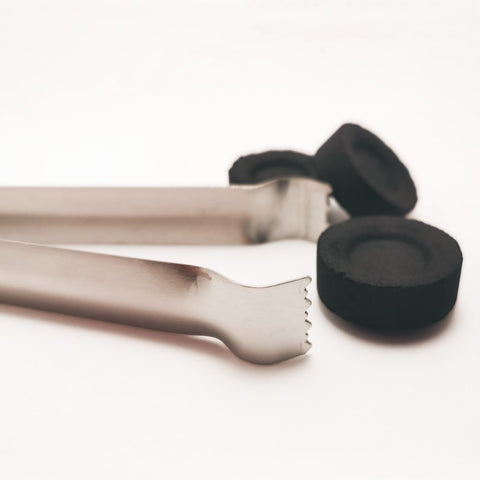 Tongs for charcoal tablets and Incense Resin- Stainless Steel  Blessiah Tongs Blessiah