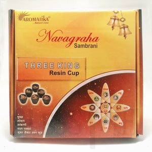 Box of 12 Resin Cups - Three King  Aromatika Resin Blessiah