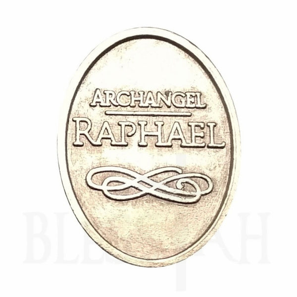 Small Archangel Protection Token - Raphael  AngelStar Token Blessiah