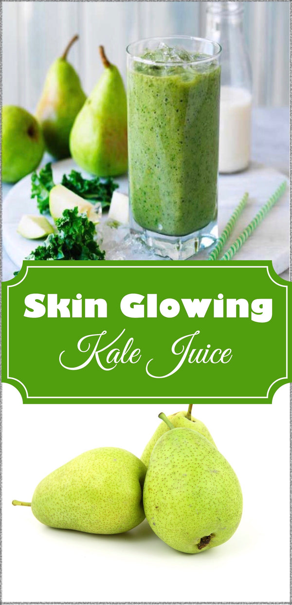 Skin Glowing Recipe - The Glowing Kale Juice