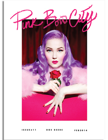 Pink Bow City Magazine - Doe Deere of Lime Crime Makeup, Masuimi Max
