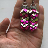 Snakeskin Earrings
