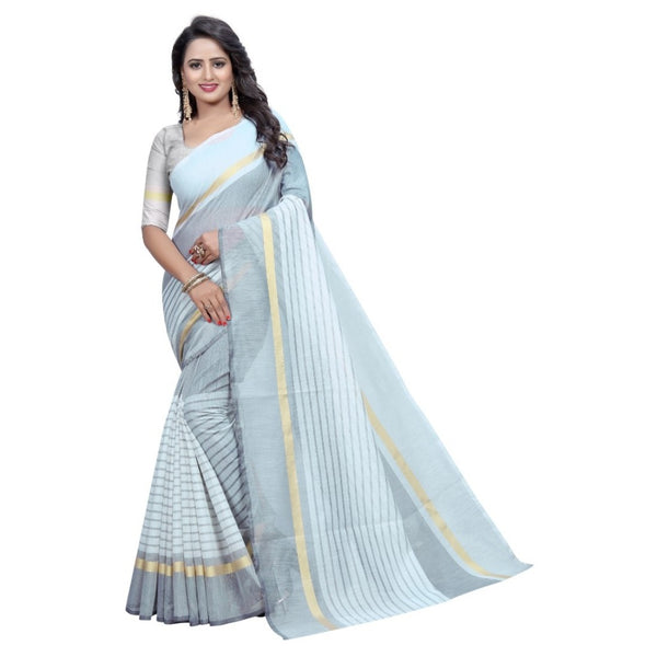 Colour Grey Georgette Fancy Saree
