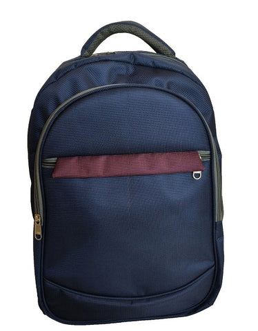 Beautiful Navy Blue Graphic Gravity Backpack And Laptop Bag