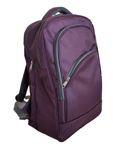 Amazing Purple Graphic Gravity Backpack And Laptop Bag