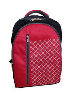Glowing Red Graphic Gravity Backpack And Laptop Bag