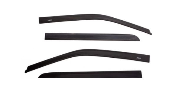AVS 16-19 Toyota CH-R Ventvisor In-Channel Window Deflectors 4pc - Smoke