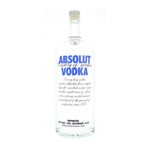 Absolut Blue 40° 4,5L-Ginsonline