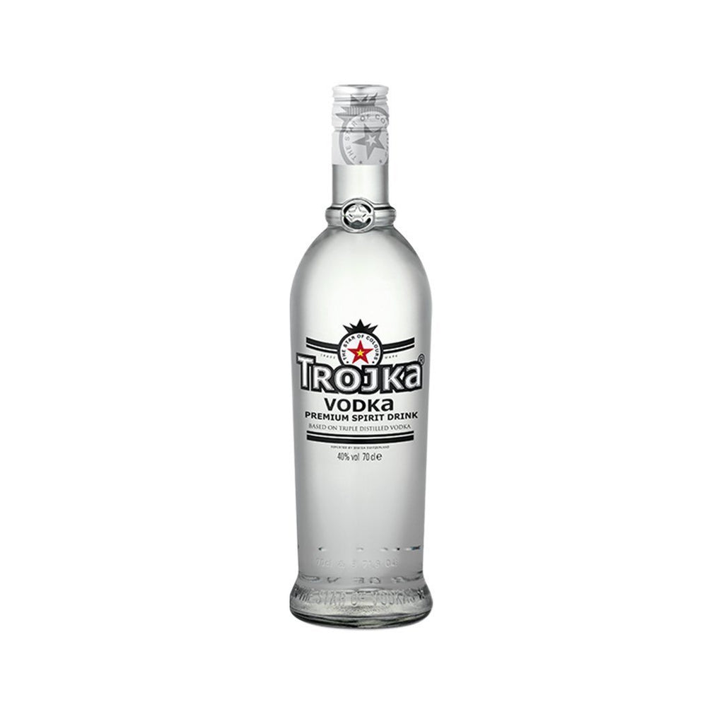 Trojka vodka Pure Grain 40° 70Cl-Ginsonline