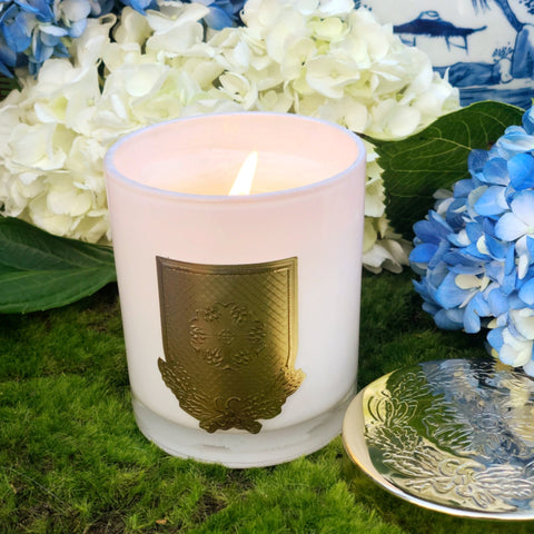Blue Hydrangea Candle