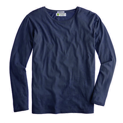 Deep blue sweatshirt