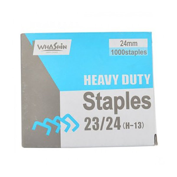 Heavy Duty Stapler Pins 23/24 Silver 24MM 1000 Pins