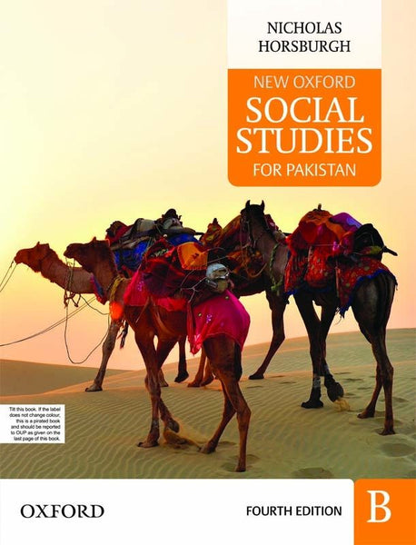New Oxford Social Studies for Pakistan Primer B with Digital Content
