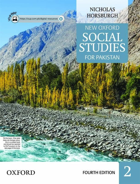 New Oxford Social Studies for Pakistan Book 2 with Digital Content