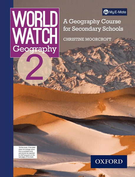 World Watch Geography Book 2 with My E-mate