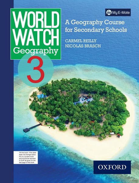 World Watch Geography Book 3 with My E-mate