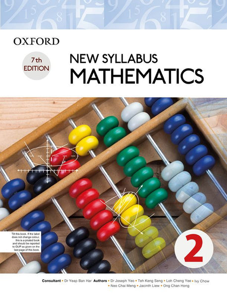 New Syllabus Mathematics Book 2