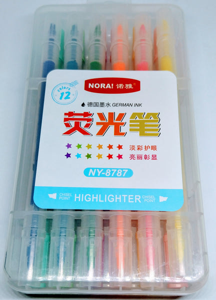 12 Colours Highlighter 2in1(NY-8787)