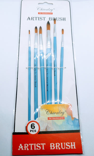 6 Pcs Brushes Set