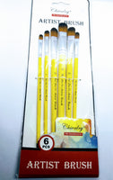 6 Pcs Brushes