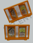 Photo Frame with Clock 500