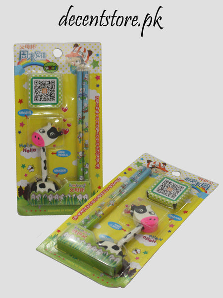 Animal Eraser & Pencil 95