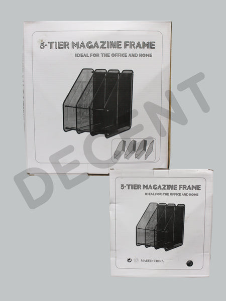 Metal Magazine Holder 3 Tier