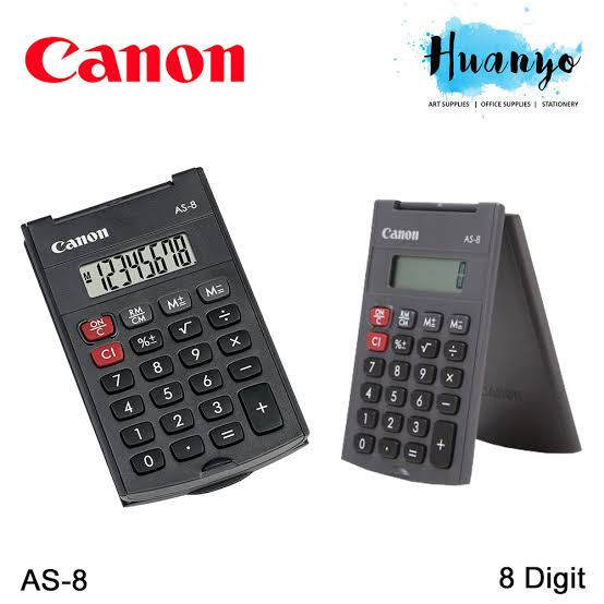 CANON AS-8 Calculator, black