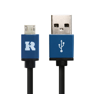 USB 2.0 Type A to Micro B, USB Data & Fast Charger Cable