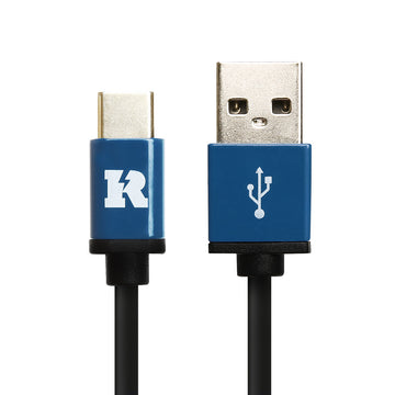 USB 2.0 Type A to USB Type C, 3A Charger Cable High Speed Data Lead