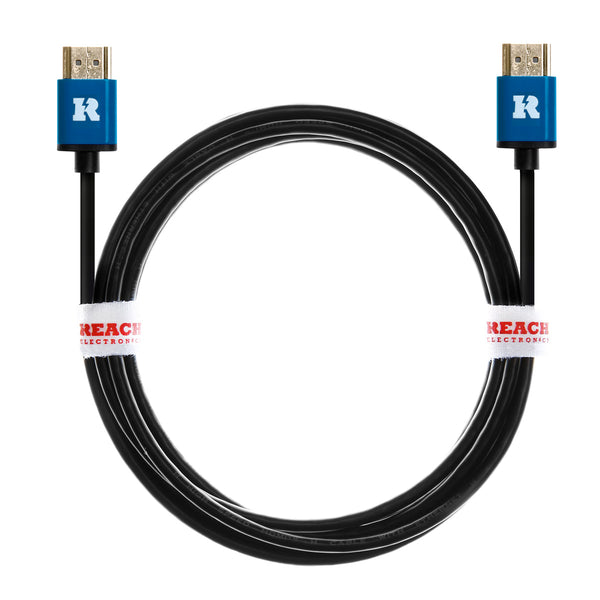 HDMI 1.4 Slim Cable (Ultra Thin 4.2mm OD) Full HD Male to Male Lead