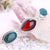 High-end customization!!!New Design Natural Red Agate With Blue Opal Sterling Silver 925 Handmade Bracelet