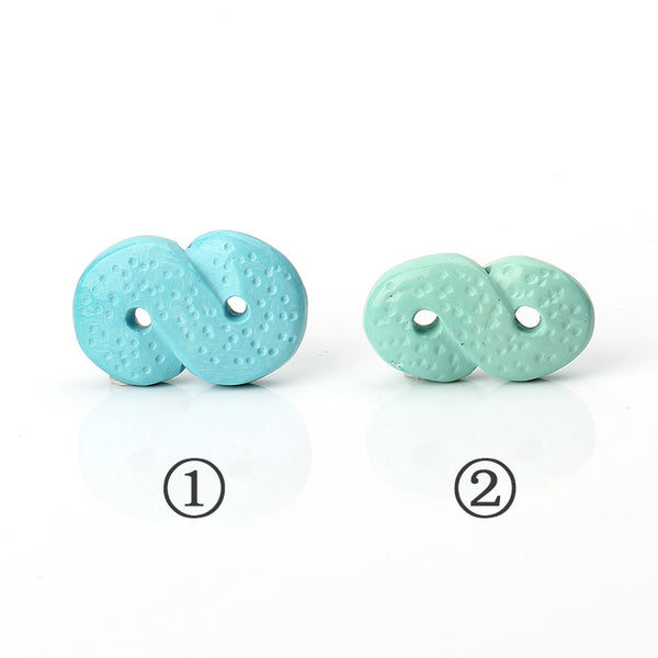 Sale 1 Piece Turquoise Carved Drilled Gemstone Pendant Stone, 24x16x7mm, 4.3g, 24x13x7mm, 2.8g
