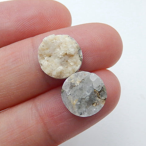 Pyrite cabochons