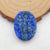 Three Ladies?Carved Lapis Lazuli Gemstone Pendant Bead For Necklace, 28x21x5mm, 5.7g