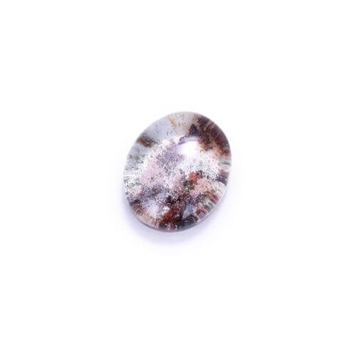 New Arrival Beautiful Phantom quartz Gemstone Cabochon 25x20x10mm 8.8g - MyGemGarden