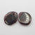 Garnet Irregular Earrings Stone Pair, stone for earrings making, 13x10x3mm, 1.7g
