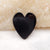 Customized! Natural Gemstone Heart Shaped Pendant Stone, 32x28x4mm