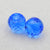 Beautiful Earrings Stone Pair Blue Zircon Faceted Beads, 10x8mm, 2.5g