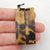 Chohua Jasper Rectangle Earrings Stone Pair, stone for earrings making, 42x13x3mm, 5.9g